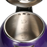 1.7L 더블 레이어 끓는 물 스테인레스 스틸 전기 주전자