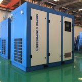 Compresseur d'air de vis dans des machines d'ingénierie d'air