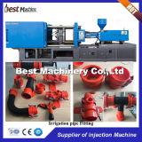 Moulage par injection en plastique d'ajustage de précision de pipe de la meilleure série faisant la machine pour l'irrigation de l'eau
