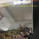 la glace de miroir de 6mm/a enduit la glace pour DEL, affichage à cristaux liquides, écran d'ordinateur etc.