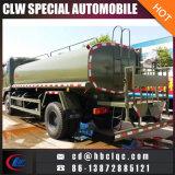 Carro de petrolero de la salida del agua del carro del dispensador del agua del precio bajo 2500gallon