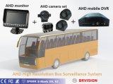 Ahd1080pの背面図のモニタのBus&Truckの2つのチャネルの入力、タイム・ディレイ、駐車の指針、接触ボタンが付いているビデオ監視サーベイランス制度
