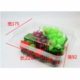 正方形の整形ペット使い捨て可能なプラスチックフルーツ容器またはサラダボックス