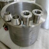 チタニウムの管付属品のチタニウムのフランジのチタニウムの肘