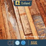 revestimento de madeira estratificado laminado textura do Woodgrain de 8.3mm HDF AC3