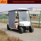 良質4の乗客の日曜日の陰が付いている電気ゴルフカート