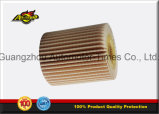 Filtro de petróleo 04152-Yzza5 para Toyota 04152-38010 para el elemento filtrante de Lexus