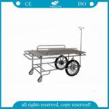 AG-Ss031 Dos grandes ruedas Metal Frame Ambulancia Hospital Camilla