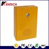 アラームセキュリティシステムの非常電話Knzd-13 Sos 1の押しボタンの壁の土台