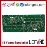 1.6mm 2 Schichten OSP Sicherheitskontrolle-Energien-Vorstand-Leiterplatte Schaltkarte-