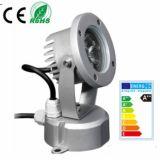 9W RGB3in1 LEDの庭ライト、LEDのスポットライト、LEDの景色ライト、