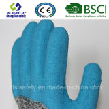 Отрежьте упорную перчатку работы безопасности при 3/4 покрынных латексов