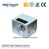 전화 상자 섬유 Laser 표하기 기계를 위한 Jd2207 스캐닝 검류계