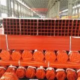 Tubo pintado estándar del hierro de la Plaza Roja de ASTM A500