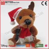 Rat van de Pluche van de Hond van het Stuk speelgoed van de Dag van Kerstmis van het nieuwjaar de Zachte