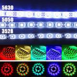 Indicatore luminoso di striscia flessibile del nastro di RGB SMD LED di natale 12V