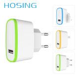 2.1A jeûnent chargeur de téléphone de chargeur de mur de port USB du chargeur UK/EU/Us 1/2