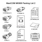 Auto versão nova da atualização de Autel Maxicom Mk906 da ferramenta diagnóstica de Autel Ds708 mesmos com Maxisys Ms906 2017