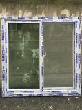 Подгонянное окно профиля UPVC с толщиным стеклом Glass5+12A+5mm двойным