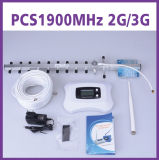 Repetidor móvil elegante del aumentador de presión de la señal del megaciclo 2g 3G de la venda 1900 de la señal de la venta caliente