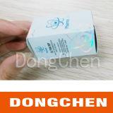 Rectángulo farmacéutico del frasco de arte de la buena calidad de la impresión de encargo brillante del papel