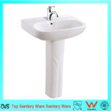 Lavabo sur pied sanitaire de lavage de main d'articles des bons prix