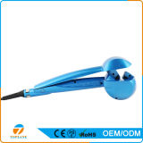 Dampfer-Rotation-automatische drehende negative Ioneinfache LCD-Haar-Lockenwickler
