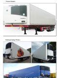Preço de choque 45 toneladas que carregam o reboque móvel do congelador de 3 eixos