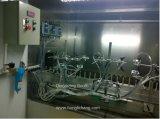 Cadena de producción automática ULTRAVIOLETA libre de polvo de la pintura a pistola para las piezas plásticas