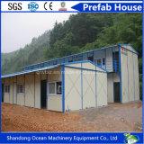 T-Tipo casa modular da construção de aço da luz do baixo custo da casa pré-fabricada Prefab da casa do material de construção e dos painéis de aço de Sanwich