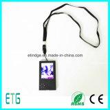 2.8 polegadas - cartão video do LCD da qualidade elevada, cartão audio