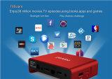 Verdoppeln bester verkaufender vorbildlicher Kasten Kodi Fernsehapparat-2016 17.0 vor einprogrammiert Amlogic S912 Pendoo T95u PROAndroid 6.0 2g 16g WiFi Kodi