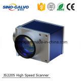 Scanner veloce Js2205 di Galvo con l'apertura di 12mm per la marcatura del laser