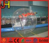 Bola que recorre del balanceo inflable del agua con la insignia impresa