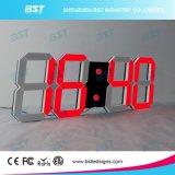 Творческие крытые часы стены цифров СИД для времени/даты/индикации Temerature через дистанционное управление