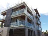 Heißes Verkaufs-moderner Entwurfs-Geländer mit Distanzhülse Frameless Glastreppen-Balustrade
