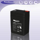 機密保護およびアラームのための6V4.5ahによって密封される鉛酸蓄電池