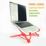 Heißer Verkaufs-justierbarer roter Laptop-Standplatz-populärer Notizbuch-Standplatz