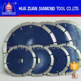 A circular segmentada diamante de Huazuan viu o disco da lâmina