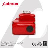中国のWenzhouの製造者の切断の四分の一の回転式モーターを備えられたアクチュエーター