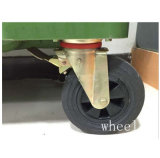 O HDPE de 660 litros ao ar livre recicl o escaninho da roda
