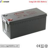 batterie solaire de cycle profond de gel de batterie de 12V 230ah (CG12-230)
