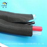 Sleeving Wrap-Around tecido expansível dos chicotes de fios do fio