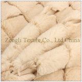 Poliestere 100% del blocco del tessuto di lana della mano protettiva