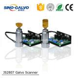 Блок развертки головки Galvo цифров Js2807 высшего уровня высокоскоростной для автомата для резки лазера