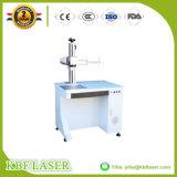 Máquina de marcado láser de fibra 20W de escritorio de metal / placas de acero / plástico