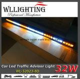 """Het """" lineaire Licht van de Adviseur van de Stroboscoop van het Verkeer van Waarschuwing amber/Witte 35.5"""