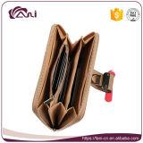 Кожа бумажника, портмоне повелительницы PU женщин с конструкцией способа
