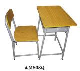 Muebles de escuela clásica de madera usados fijados para la escuela