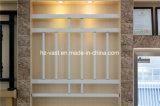 Barandilla de acero galvanizada decorativa de alta calidad 37 del balcón de la aleación de Haohan Alluminum